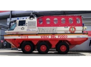 Пожарный автомобиль-амфибия IVECO